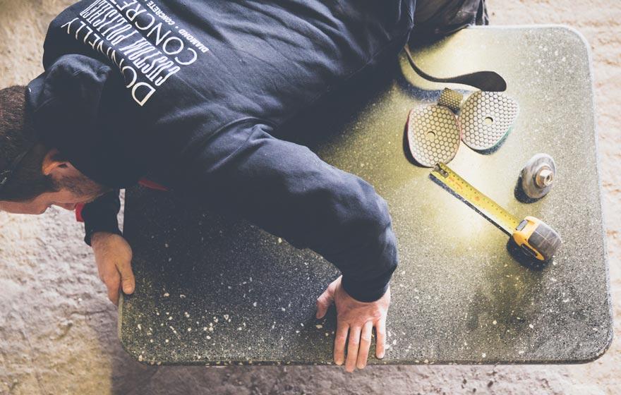 custom-polished-concrete-making