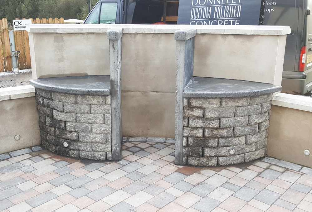 Ploished Concrete Worktops Northern Ireland
