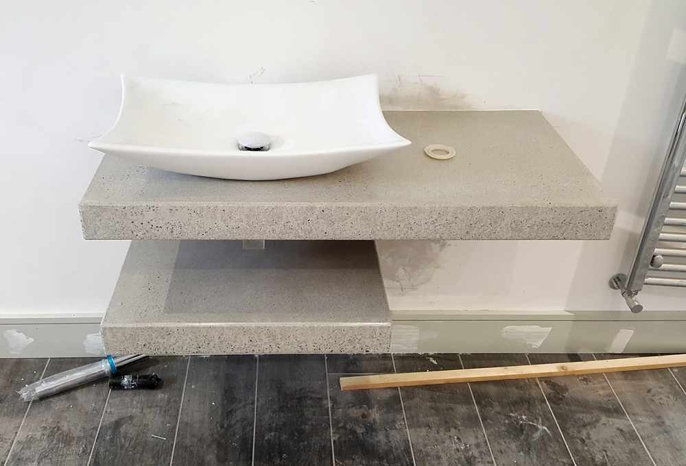 Polished Concrete Worktops Northern Ireland