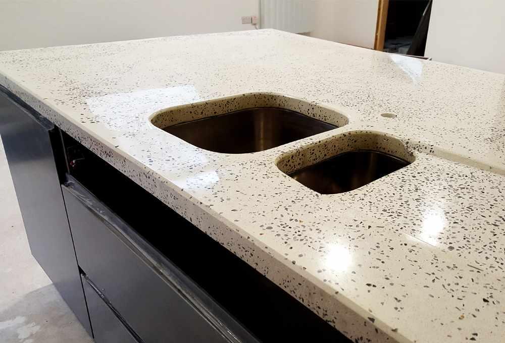 Polished Concrete Worktops Northern Ireland