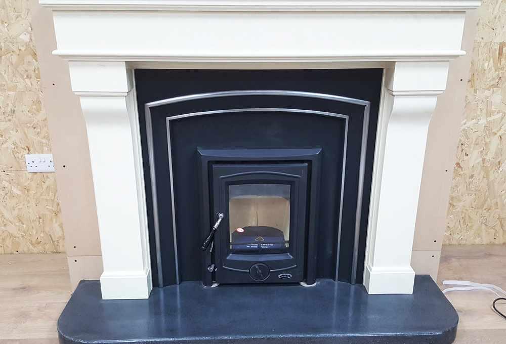 Polished Concrete Fireplaces